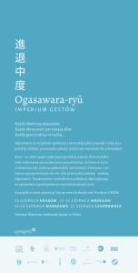 Ogasawara poster